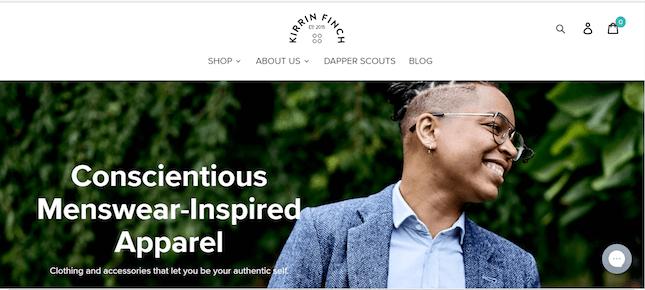 Kirrin Finch homepage