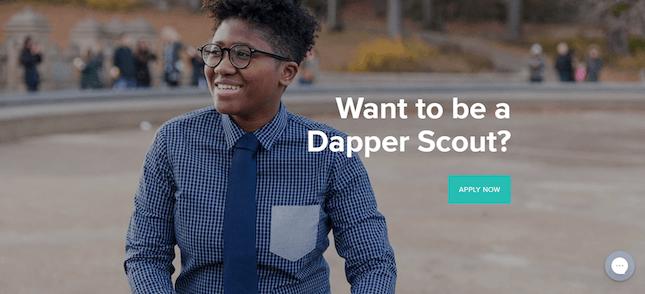 Kirrin Finch's Dapper Scout page