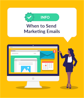 When to Send Marketing Emails featured image