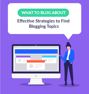 What to Blog About featured image