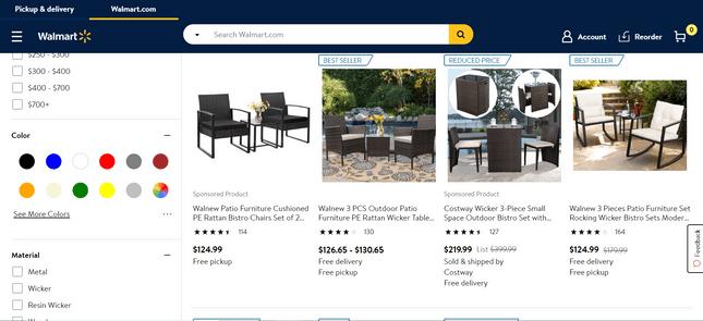 amazon alternatives: walmart marketplace