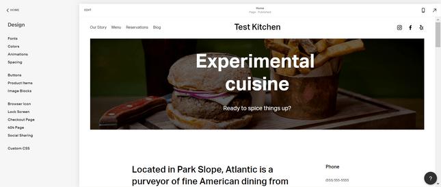 Дизайн вашого сайту Squarespace