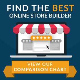 online store builder comparison chart