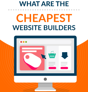 cheapest website builders