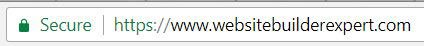 benefit of personal domain ssl website builder plan
