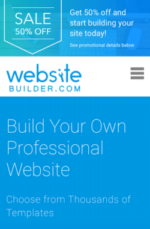 Website Builder.com Half Price Offer-min