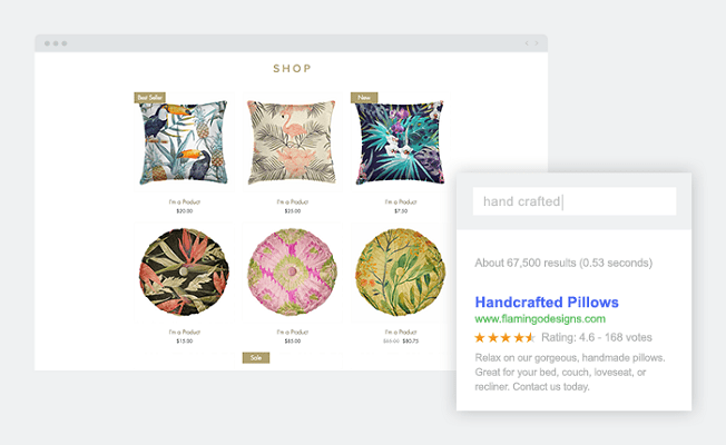 Wix eCommerce Product Description Flamingo Designs - How To Sell Online