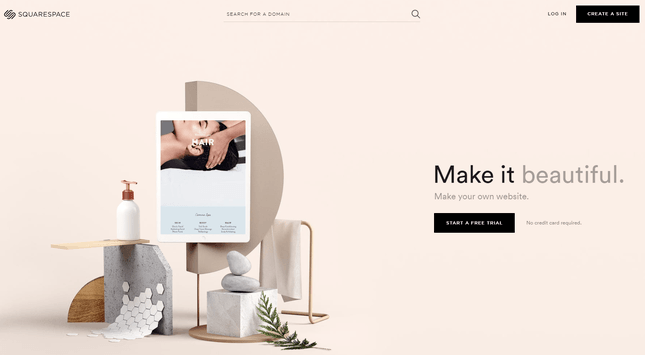 squarespace responsive website