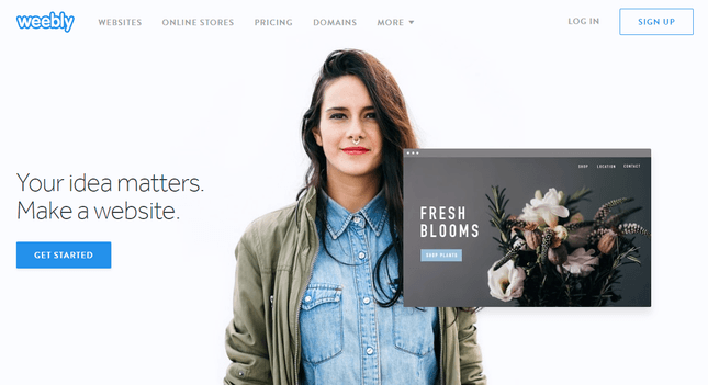 build a responsive website with weebly