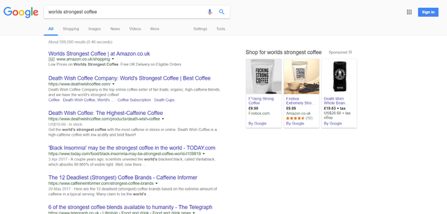 shopify seo website example
