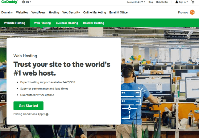 GoDaddy Hosting