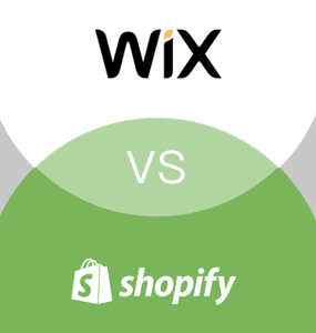 wix vs shopify featured image