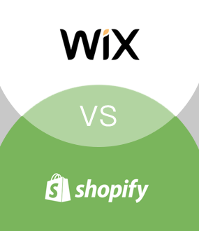 Image result for wix vs shopify