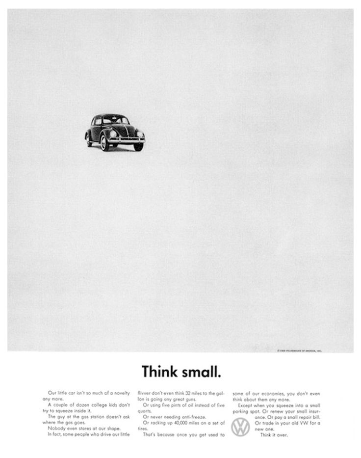 Beetle - Think Small