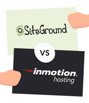 featured image siteground vs inmotion