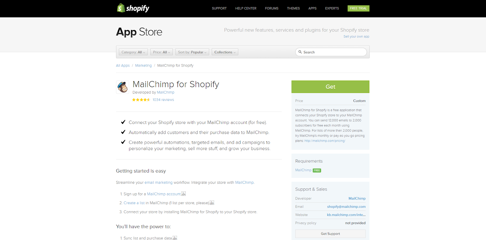 MailChimp plugin for Spotify