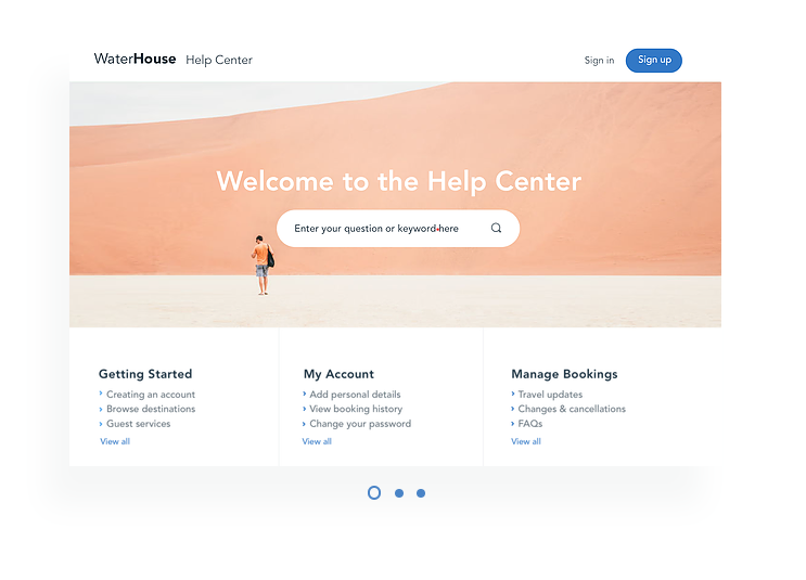 Wix Knowledge Centers