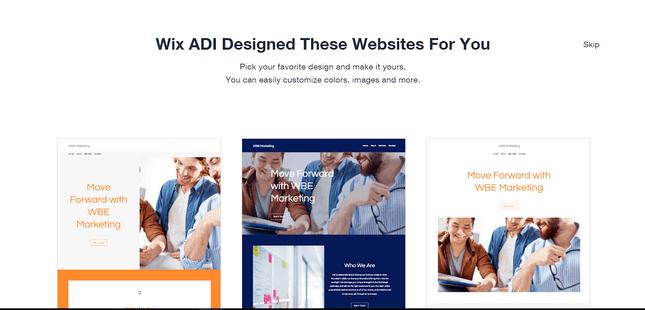 Wix ADI Designs