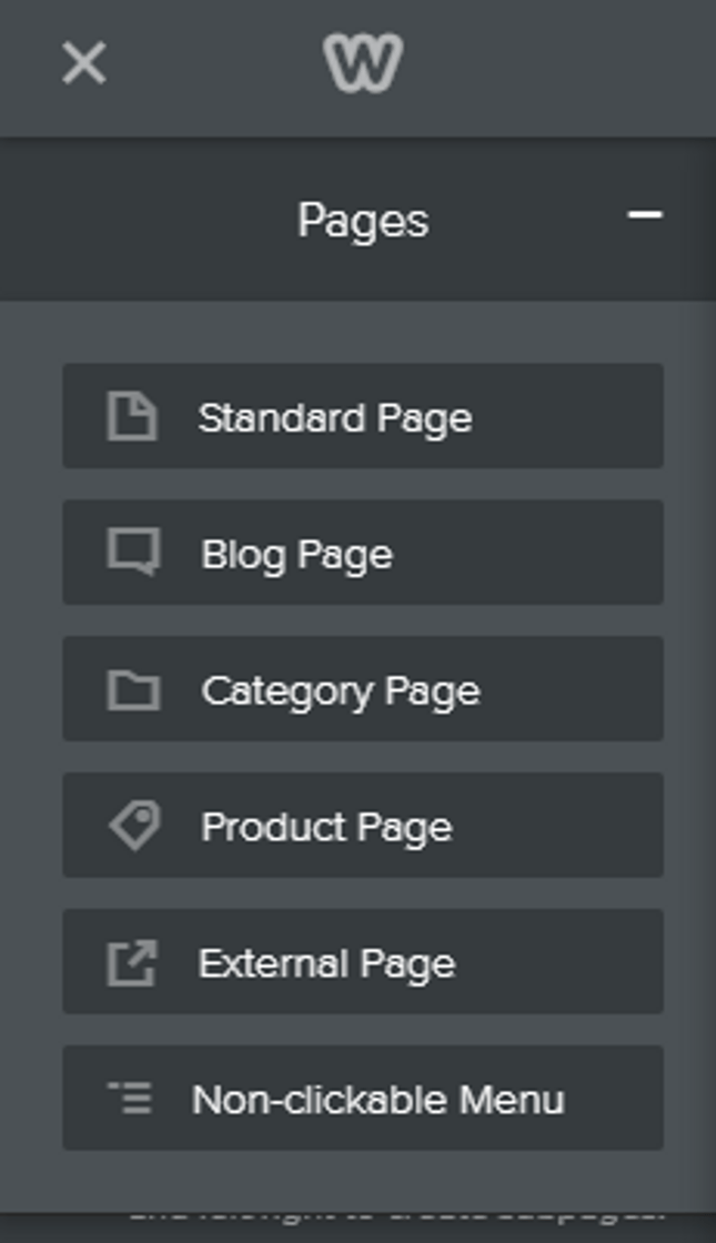 weebly how to add pages