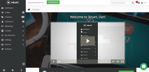 3dcart help button