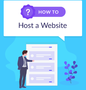 how to host a website