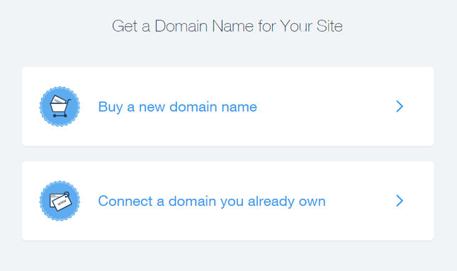 wix domain cost