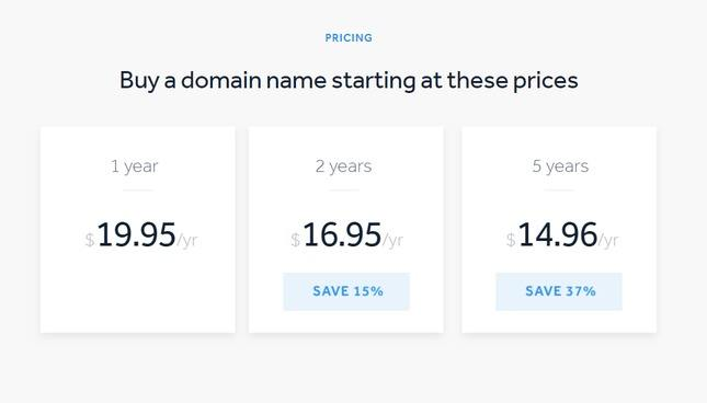 weebly domain prices