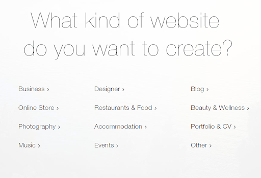 wix editor homepage