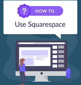 how to use squarespace featured image