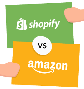 shopify vs amazon featured image