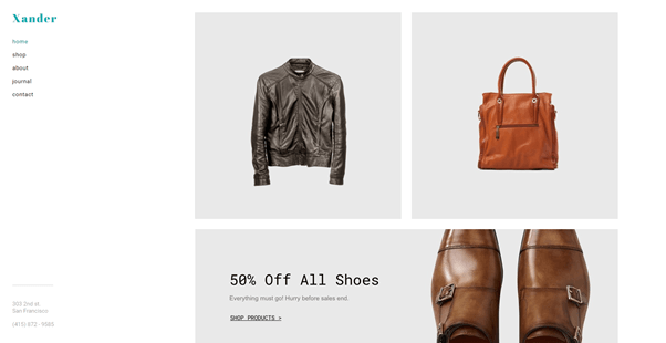 weebly storefront