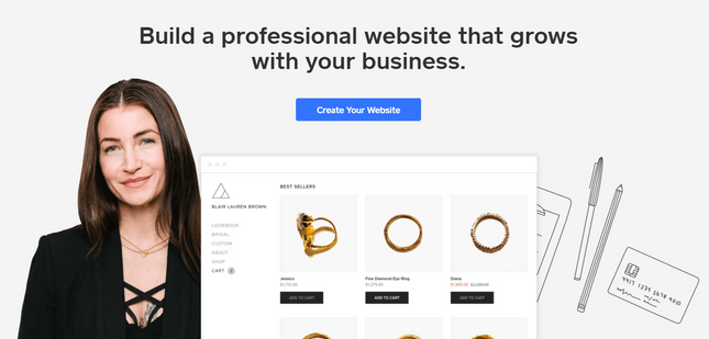 squarespace alternatives weebly