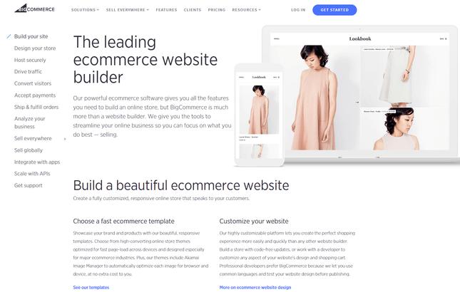 bigcommerce ecommerce features