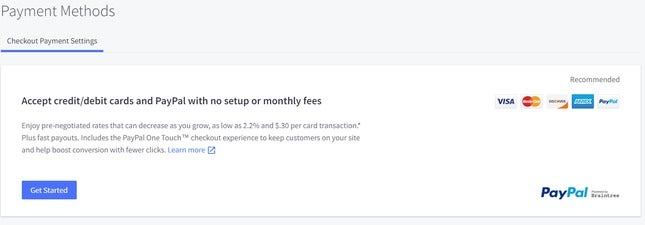 bigcommerce payment options