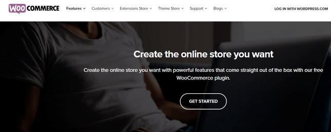 woocommerce ecommerce features