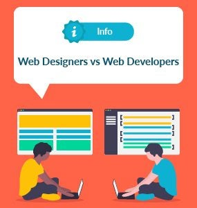 web designers vs web developers featured image