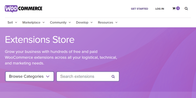 woocommerce extensions library