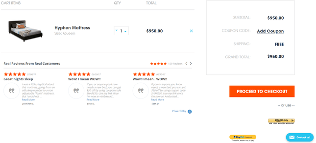 bigcommerce example store checkout