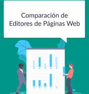 comparacion de editores de paginas web