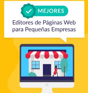 mejores editores de paginas web para pequenas empresas