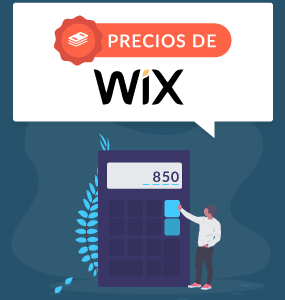 precios de wix