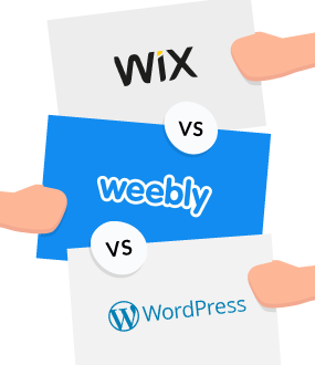 Wix vs Weebly vs WordPress: Web War 3 (Sept 2019)