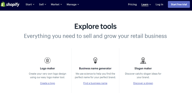 shopify sales tools