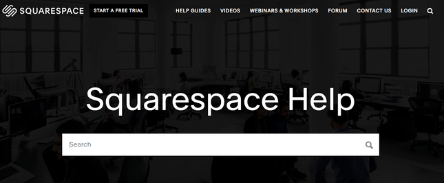 squarespace help center