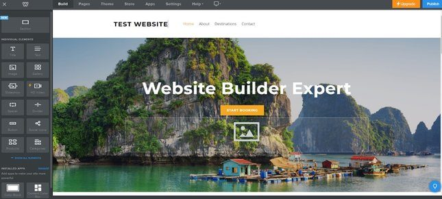 weebly editor homepage
