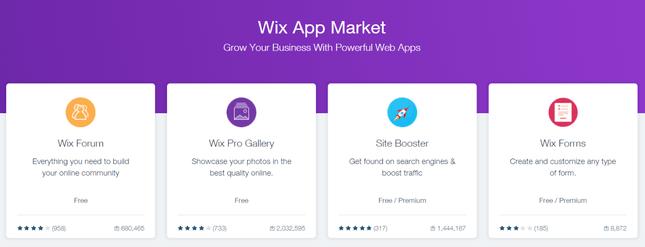 wix app center
