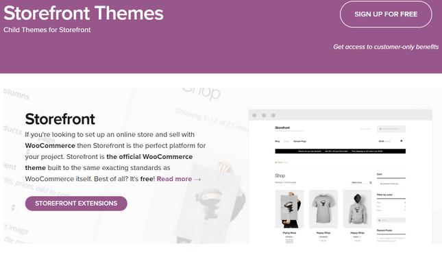 woocommerce storefront themes