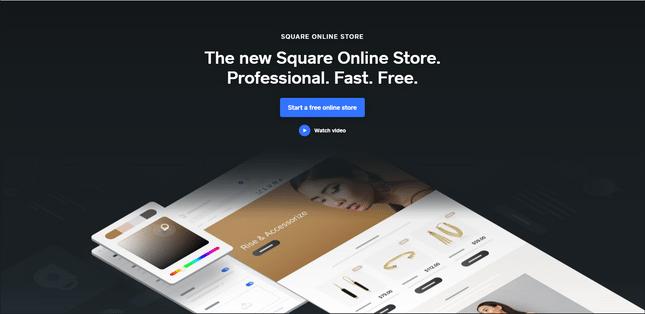 square ecommerce builder
