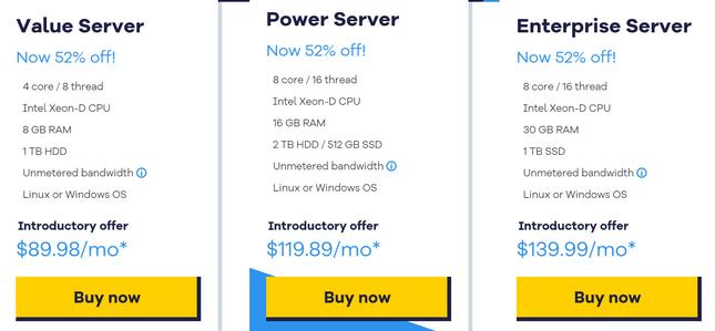 hostgator dedicated pricing