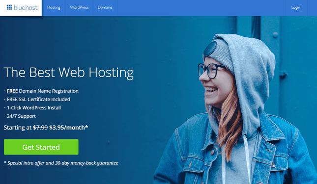 GoDaddy alternatives Bluehost